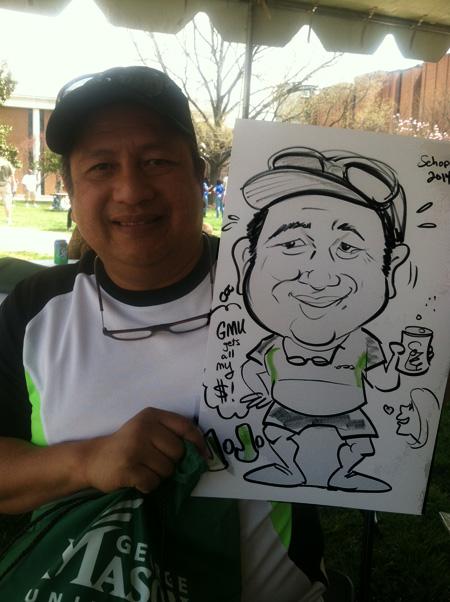 Proud father at George Mason University!