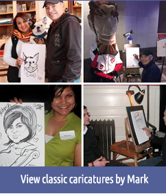 View classic caricatures by Mark