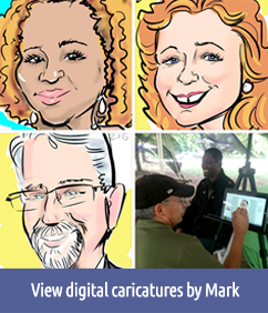 Digital caricatures by Mark