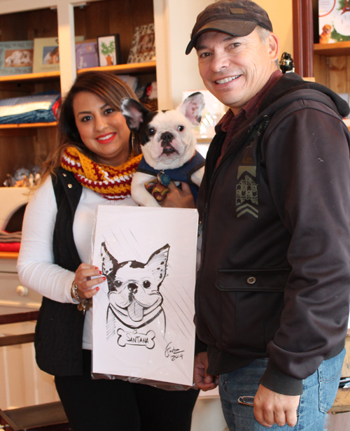 Dog caricatures!