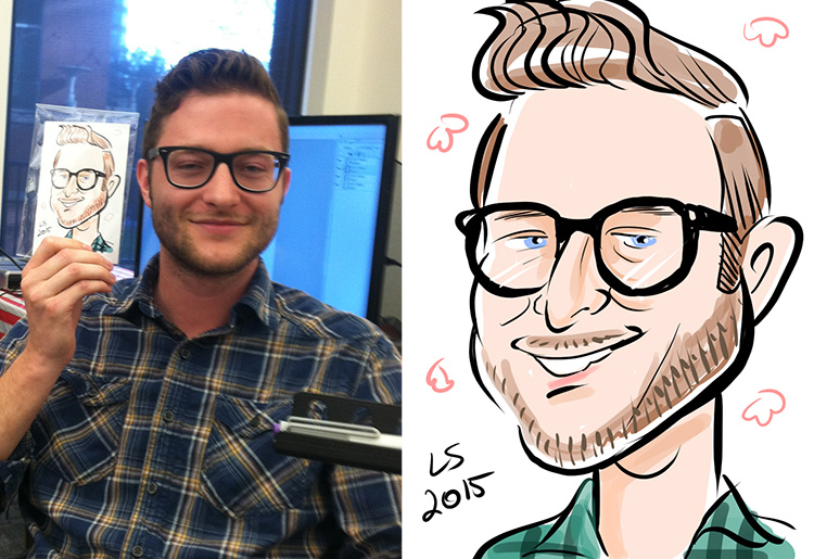 Digital Caricature at the Motley Fool!