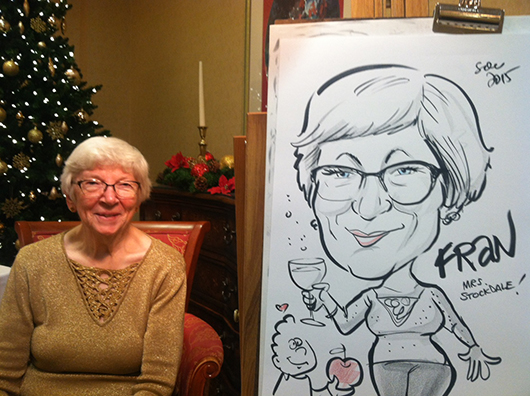 Teacher caricature!
