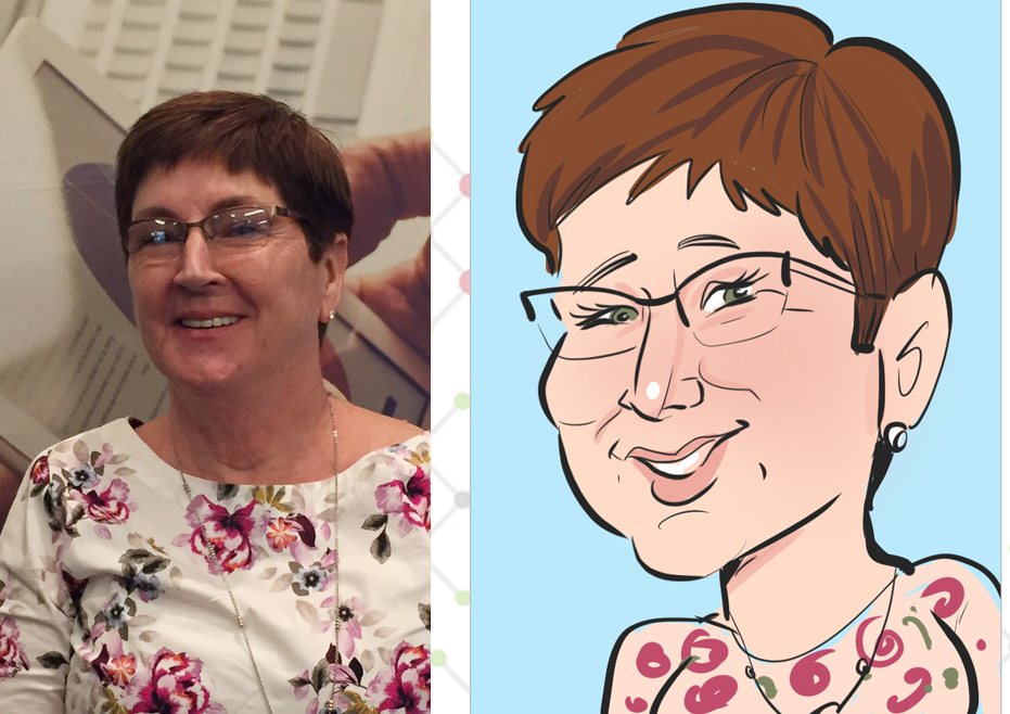 Digital caricatures are great for conferences!