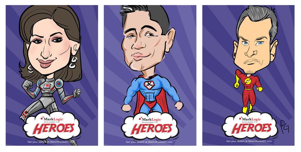 Choose your super hero body!