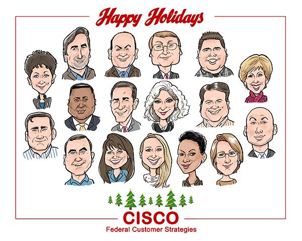 Company holiday card!